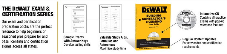 DEWALT Exam and Certification Series