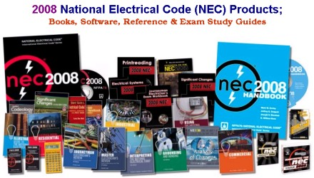 2008 National Electrical Code (NEC) & Related Reference & Exam Prep