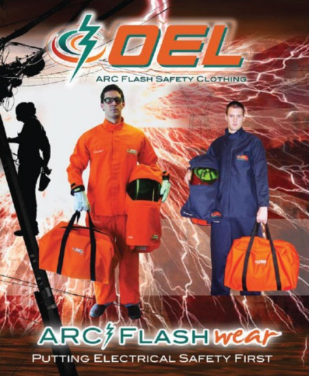 PPE - Personal Protective Equipment - Arc Flash Protection Gear