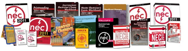 2011 National Electrical Code (NEC) Books, Software, Training and Study Guides