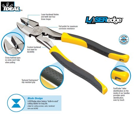 LASERedge tools out perform the competition in performance and durability.